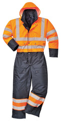 Class 3 Hi-Vis Lined Coverall