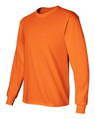 Gildan Ultra Cotton L/S T-Shirt-Safety Orange