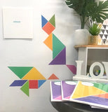 TANGRAM ART - PURPLE
