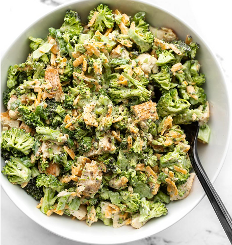 Broccoli Cheddar Salad