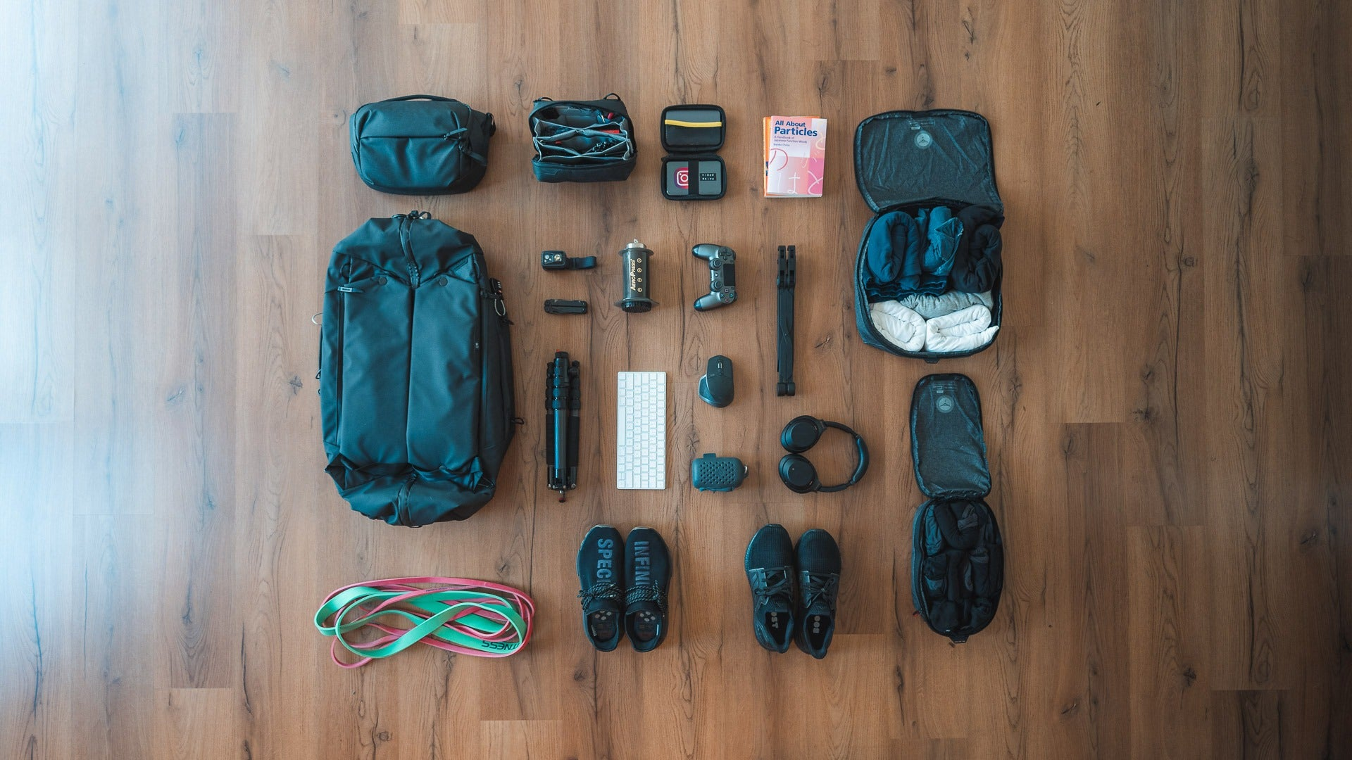The gear I'm travelling the world with - Peak Design Travel Duffelpack 65L