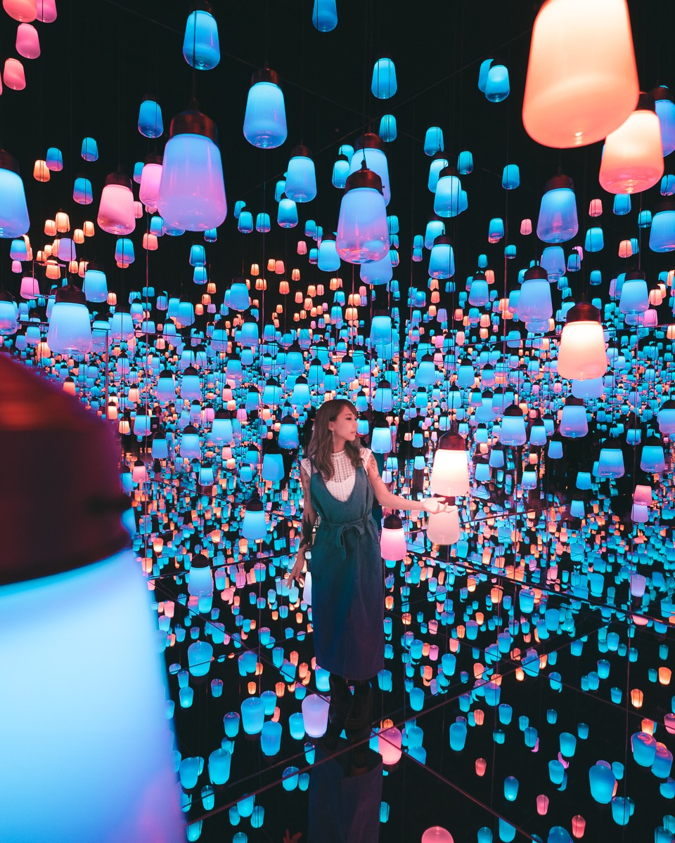 Teamlab borderless - 10 of the most Instagrammable places in Tokyo - Pat Kay Blog