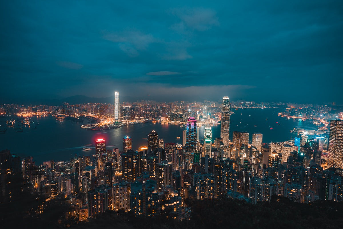 Victoria peak - How to spend 24 hours in Hong Kong - Pat Kay Away