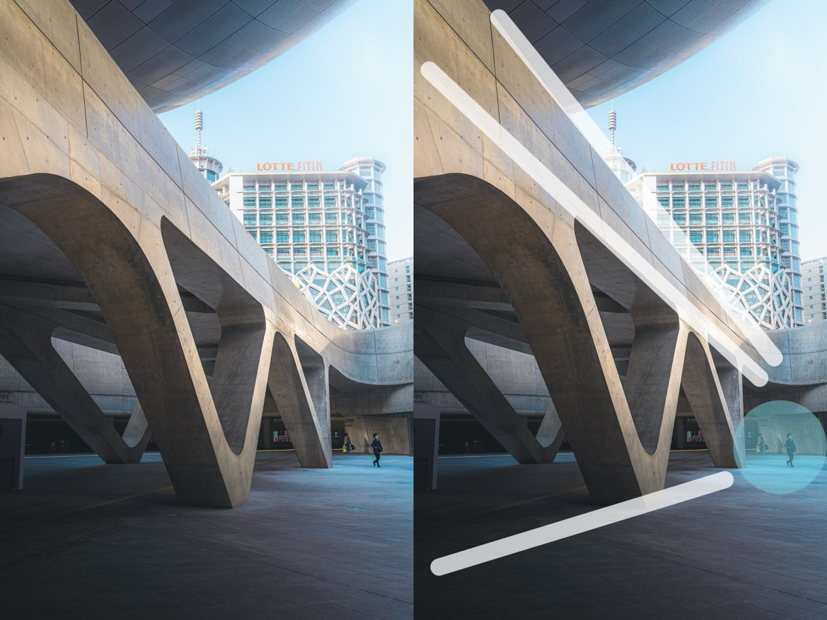 Architecture example - Leading lines in Photography - Pat Kay Blog