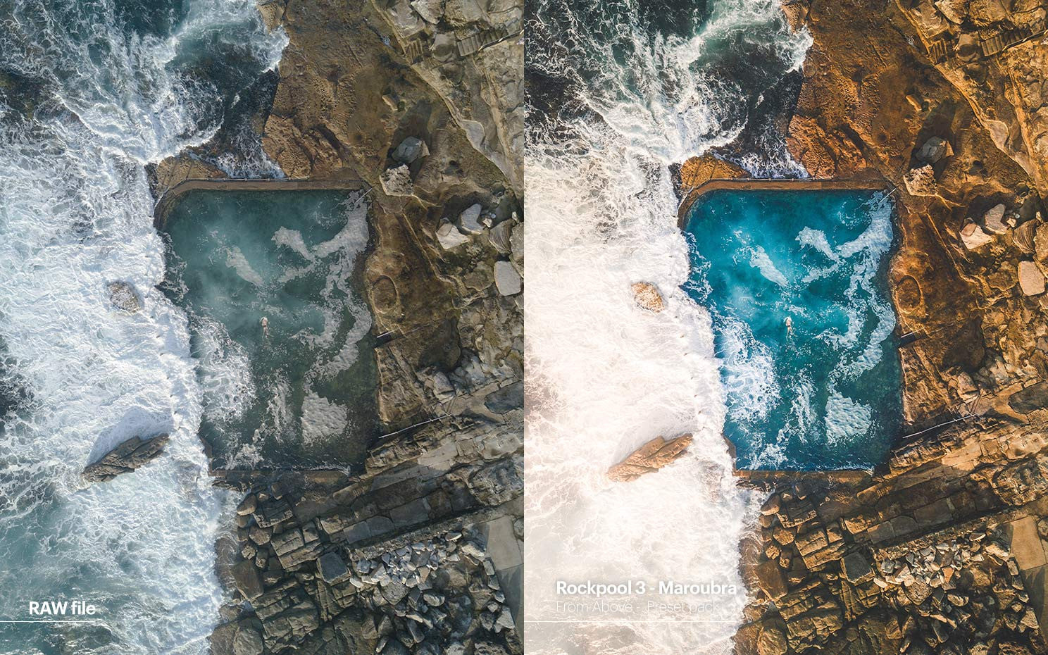 Pat Kay presets - From Above - Rockpool 3 - Maroubra