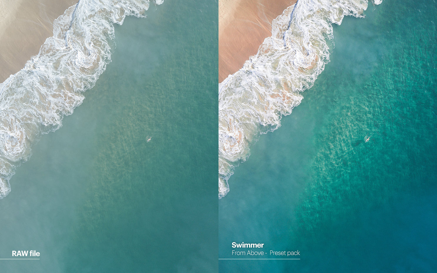 Pat Kay presets - From Above - Swimmer