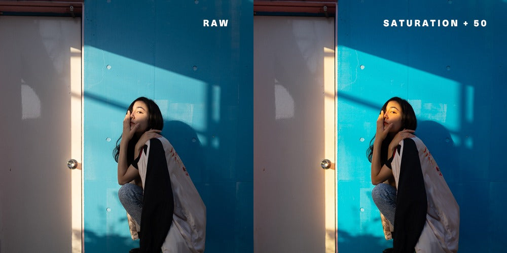 An example of saturation +50 in Adobe Lightroom - Pat Kay Blog
