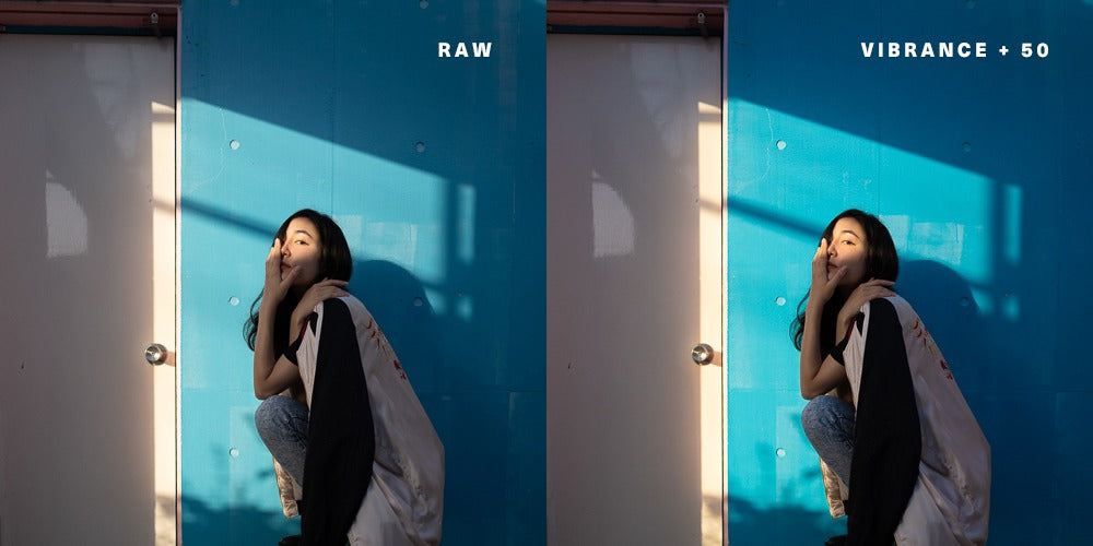 An example of vibrance +50 in Adobe Lightroom - Pat Kay Blog