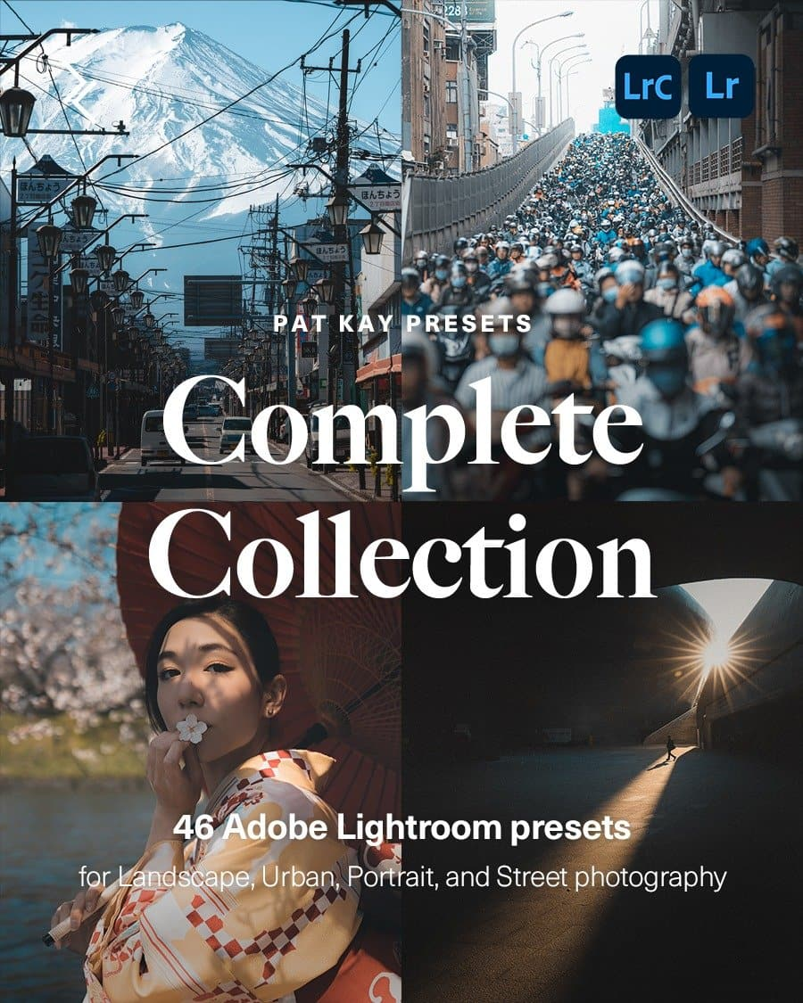 Pat kay Presets - Complete Collection - Adobe Lightroom Presets