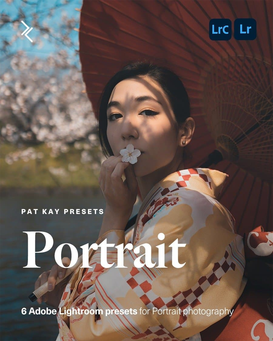Pat kay Presets - Portrait - Adobe Lightroom Presets