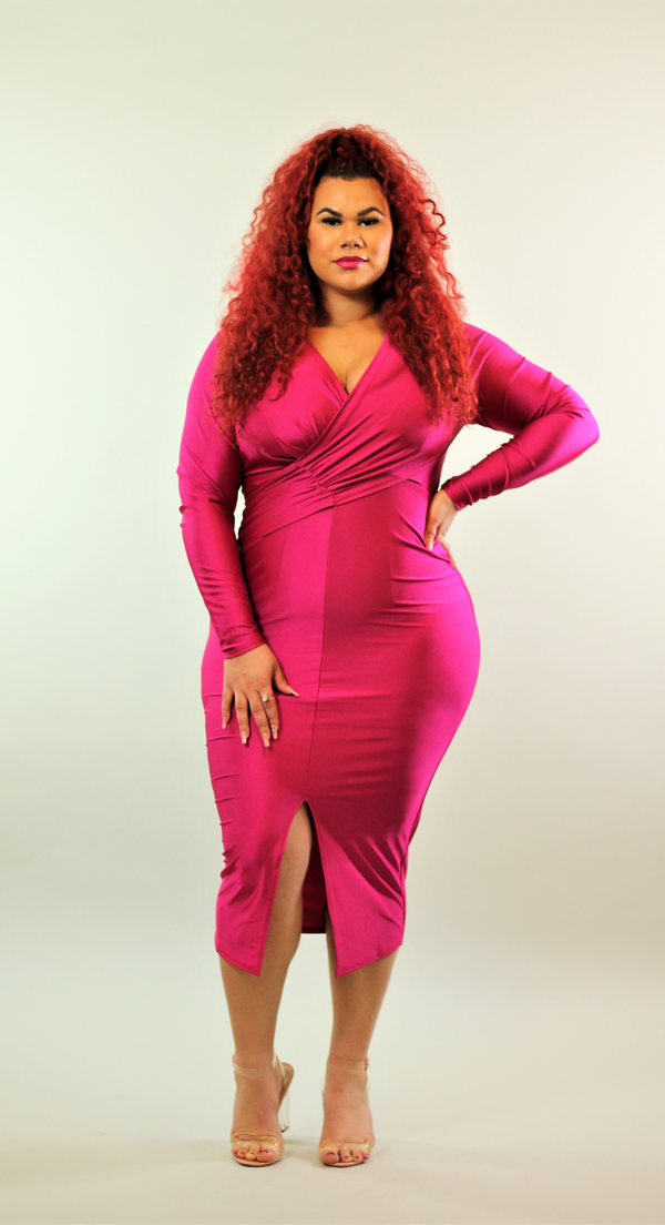 Curvy Madam Luxe Midi Dress