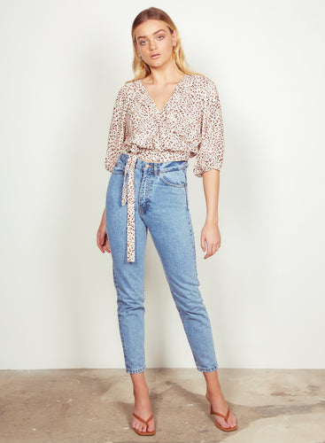 WISH - Zahara Wrap Blouse