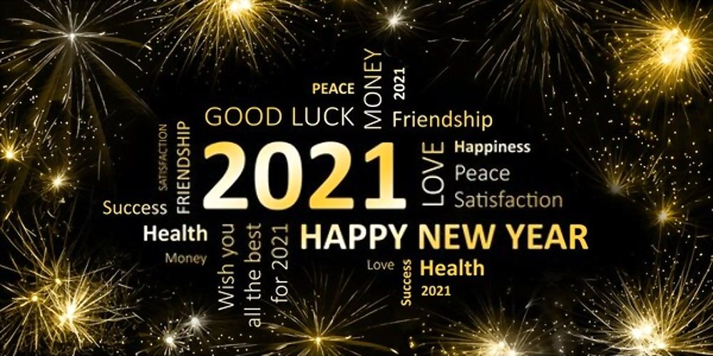 Virtual Celebrations for New Year's Eve 2020 - 2021