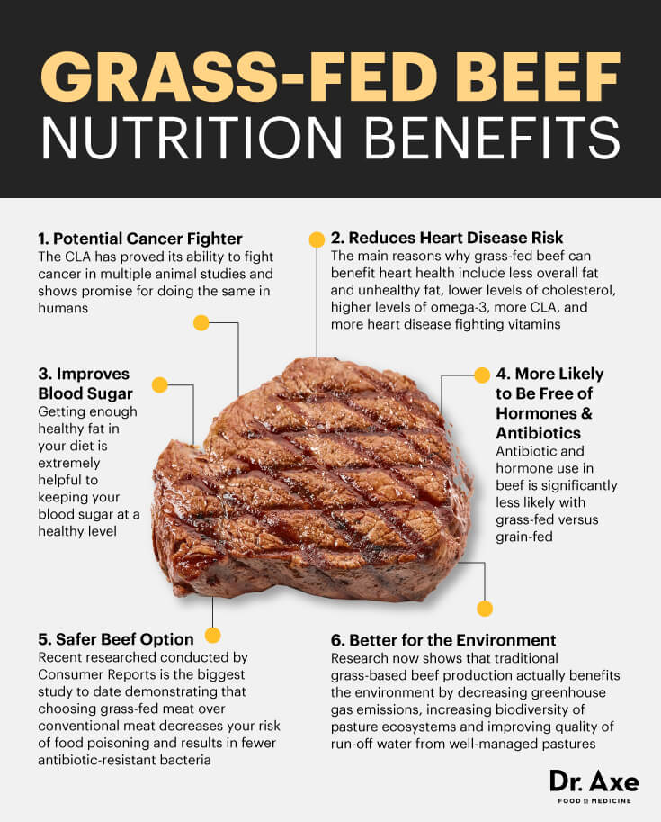 Benefits of Grass Finished Beef