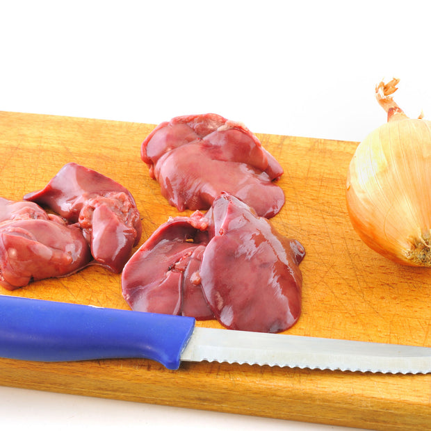 Air Chilled Chicken Livers - This Selection Contains 4lbs in 1lb Packs