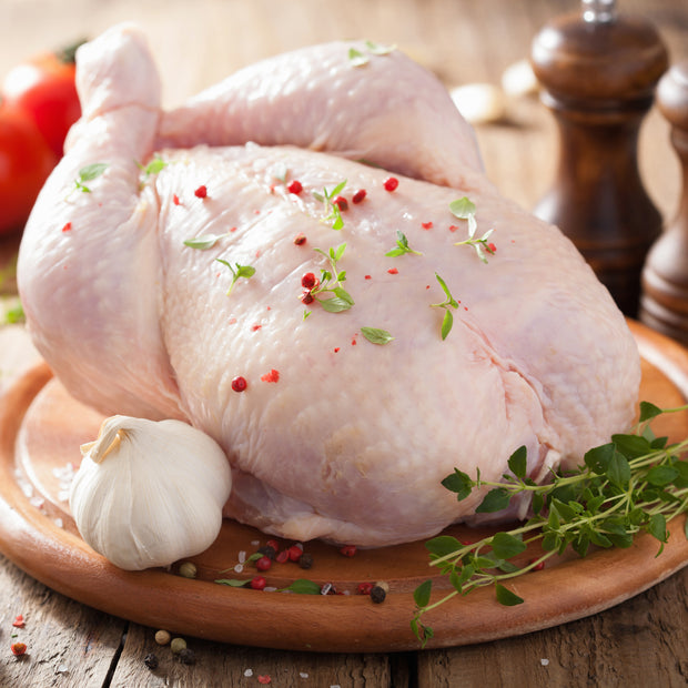 Air Chilled Whole Chickens - This Selection Contains 1 Chicken at 3 - 4lbs