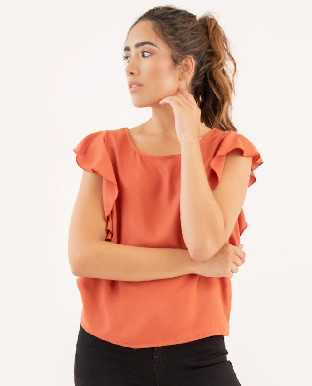 BLUSA HOLLY TERRACOTA - WILD SPIRIT