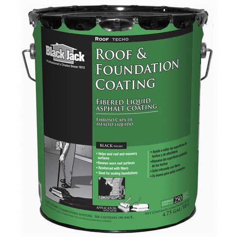 Black Jack® Fibered Roof & Foundation Coating