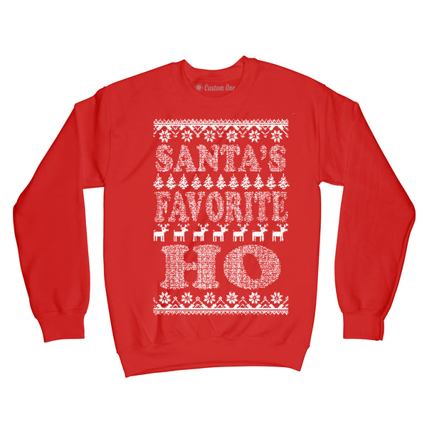 Santa's Favorite Ho, Christmas Sweater