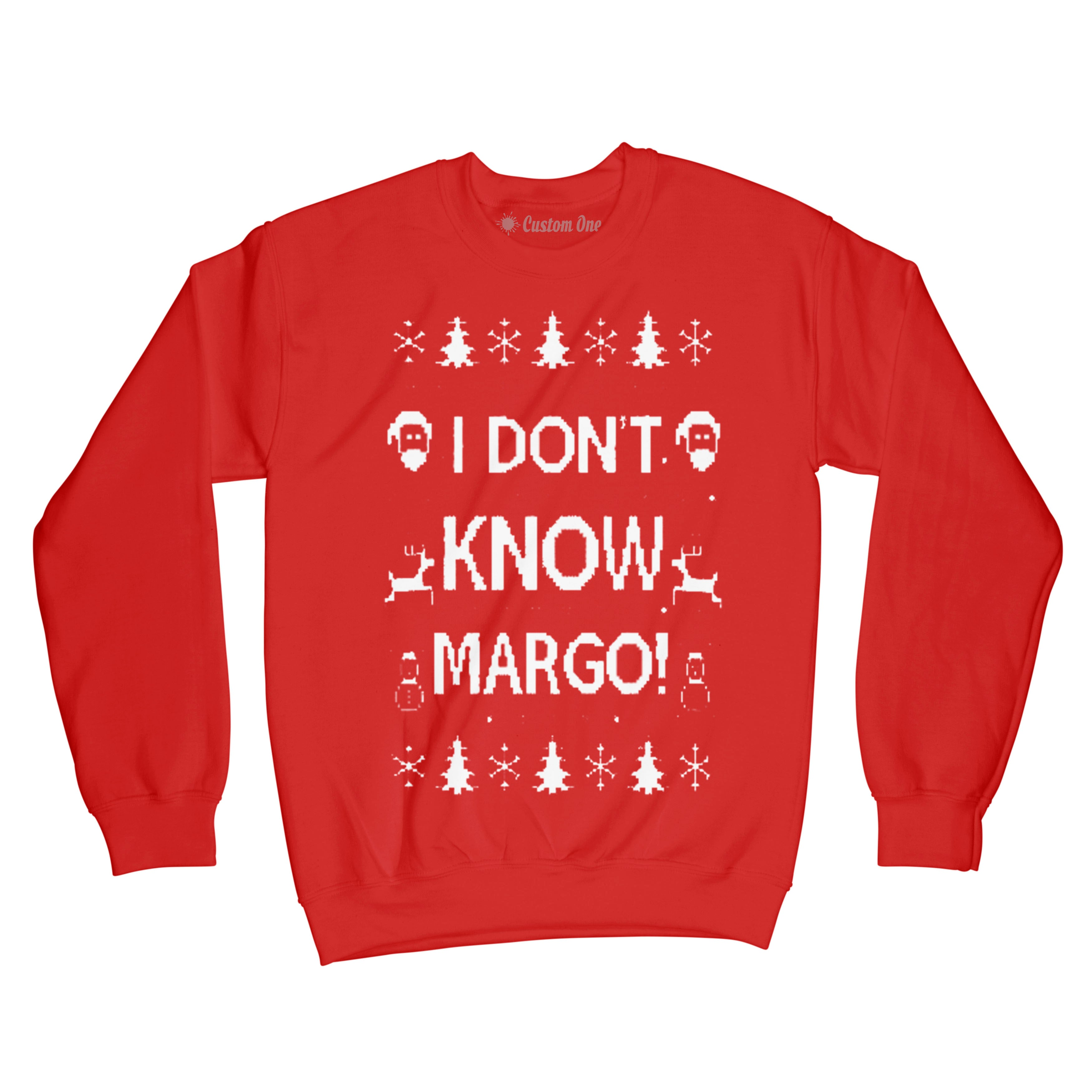 I Don't Know Margo, Christmas Sweater