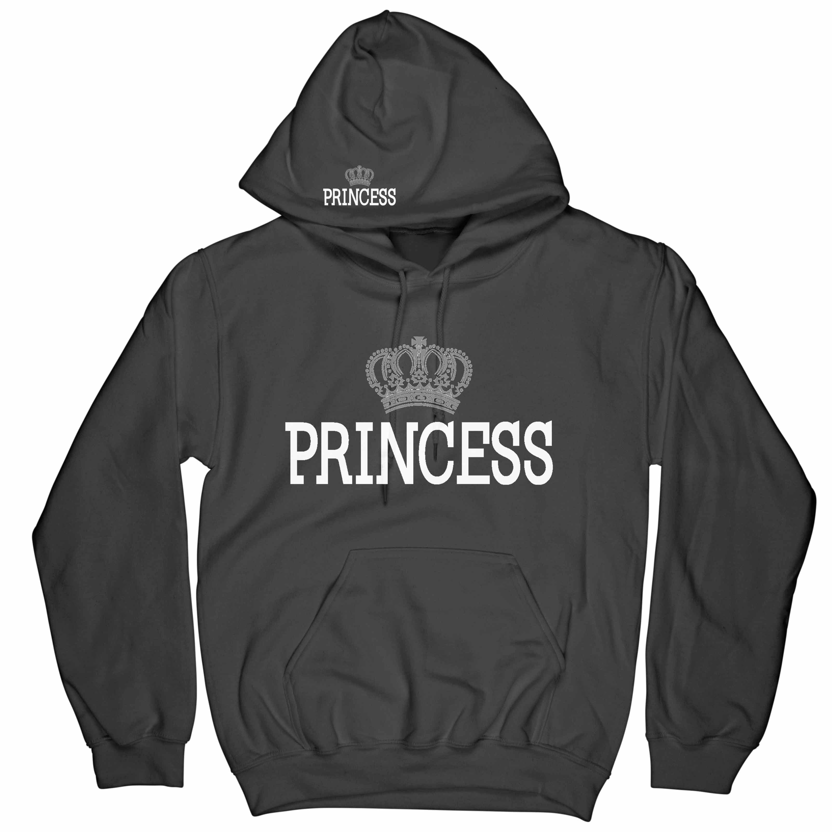 fee7dcc2e5f PRINCESS Hoodie – Custom ONE