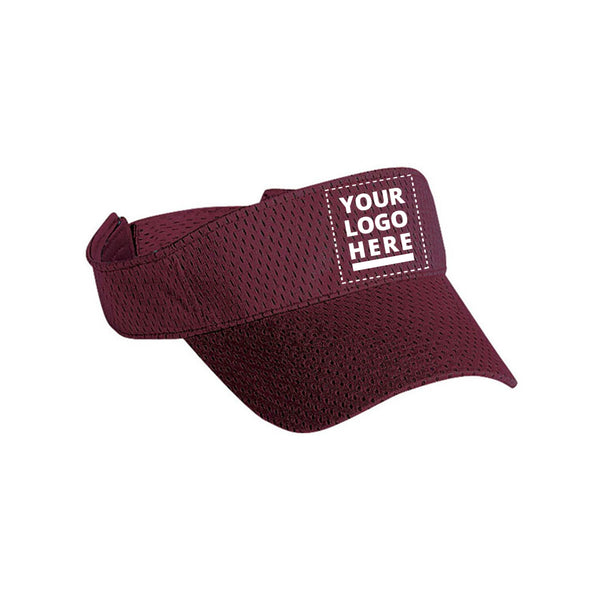 Athletic Jersey Mesh Visor