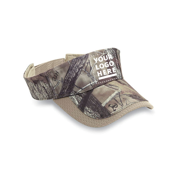 True Timber Camouflage Mesh Visor