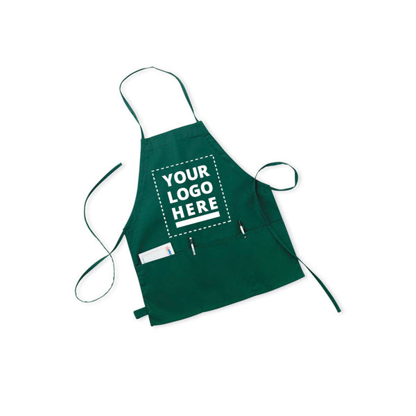 Restaurant Apron w/3 Pouch-Md
