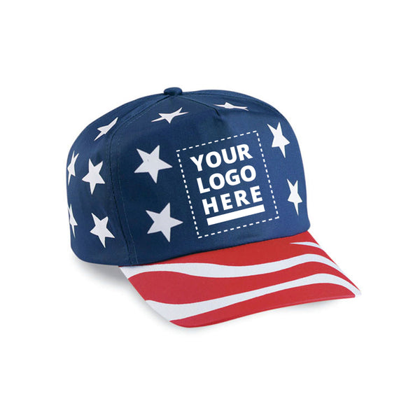 USA Flag Caps