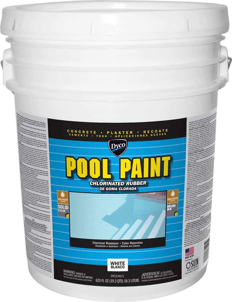 Dyco 174 Pool Paint Chlorinated Rubber Dyco Paints Inc