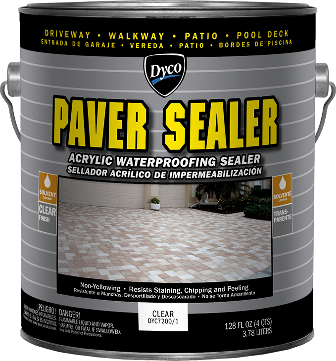 dyco paver sealer solvent based acrylic waterproofing sealer