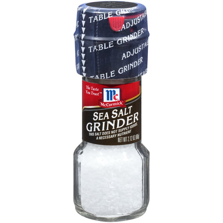 McCormick® Sea Salt Grinder, 2.12 oz. Bottle