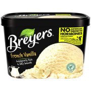 Breyers French Vanilla Ice Cream, 48 oz
