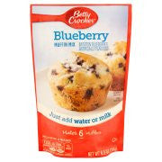 Betty Crocker Muffin Mix Blueberry Makes 6 Muffins 6.5 oz Pouch