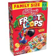 Kellogg's Froot Loops Multi Grain Cereal, 19.4 ounce