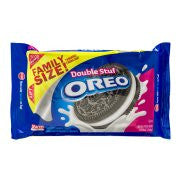Oreo Double Stuf Chocolate Sandwich Cookies, 1lb 4 OZ
