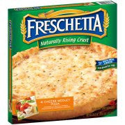 Freschetta® Naturally Rising Crust 4 Cheese Medley Pizza 26.11 oz. Box`
