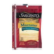 Sargento Natural Muenster Cheese Slices - 11 CT