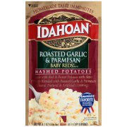Idahoan® Baby Reds® Brand Roasted Garlic & Parmesan Mashed Potatoes 4.1 oz. Pouch