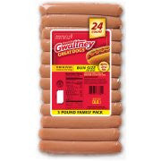 Gwaltney® Original Chicken Bun Size Hot Dogs 48 oz. Pack 24 pk