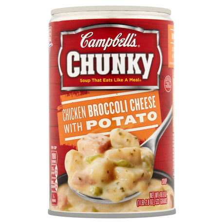 Campbell's Chunky Chicken Broccoli Cheese with Potato Soup 18.8oz