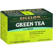 Bigelow® Green Tea with Mint 0.91 oz. Box