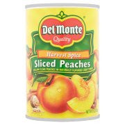 DelMonte SLICED PEACHES SPICE canned