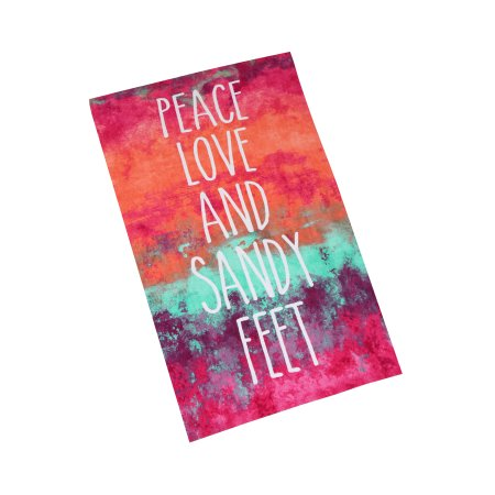 MS 34X64 PEACE LOVE MULTI
