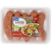 Great Value Fresh Grilling Mild Italian Sausage 19oz