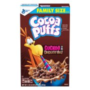 Cocoa Puffs Chocolate Breakfast Cereal, 20.9 oz Box