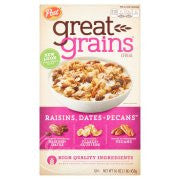 Post® Great Grains Raisins, Dates & Pecans Cereal 16 oz. Box