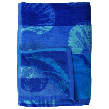 Mainstays Seashell Stripe Beach Towel
