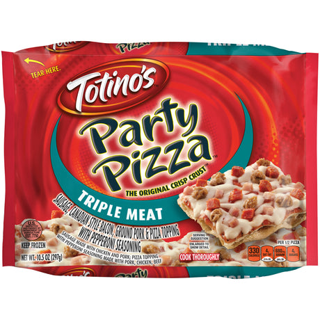 Totino's™ Triple Meat Party Pizza 10.5 oz. Bag