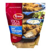 Tyson Chicken Strips Crispy, 25.0 OZ
